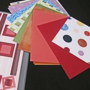 Lot of Photo Mounting paper, Jumbo Great Length St